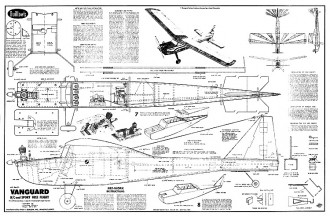 Vanguard model airplane plan
