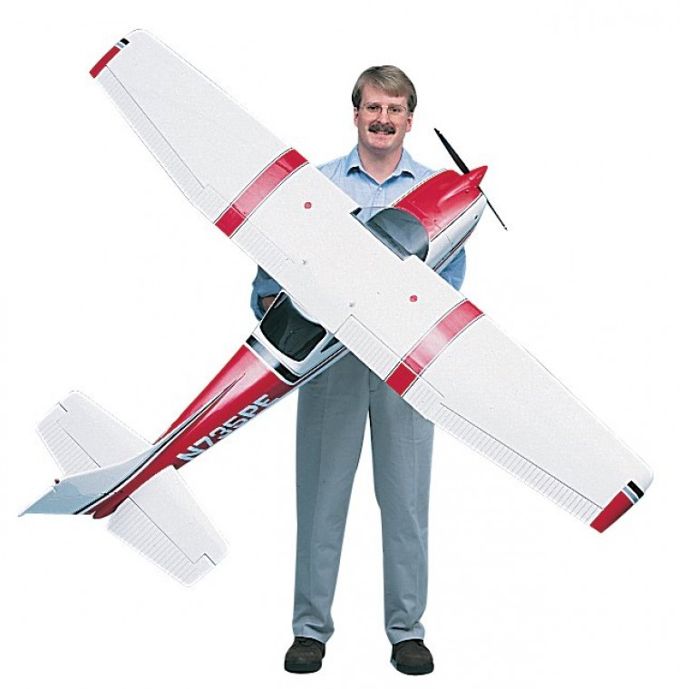 Gold Edition Cessna 182 81' Span TOPA0300 model airplane plan