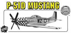 P51-D MUSTANG model airplane plan