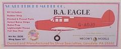 B.A Eagle model airplane plan