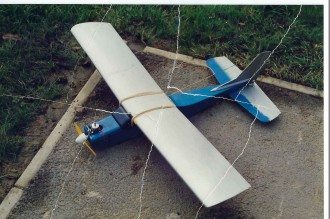 EXECUTIVE model airplane plan