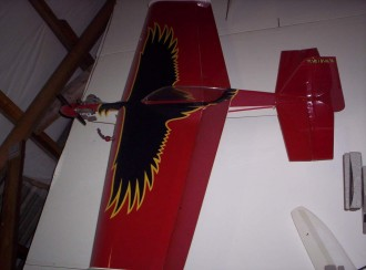 Raven 40 model airplane plan