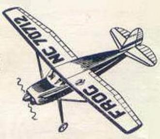 Cessna 140 model airplane plan