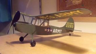 Cessna Bird Dog model airplane plan