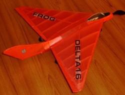 Delta 16 model airplane plan