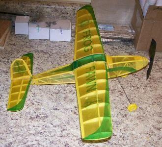 Fawn model airplane plan