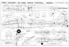 Frog Jackdaw model airplane plan