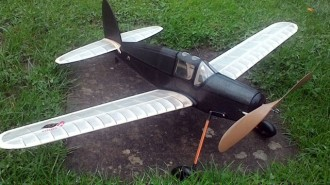 Jupiter model airplane plan