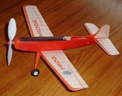 Midge model airplane plan