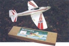 Mustfire model airplane plan