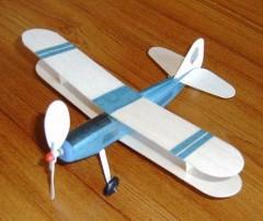 Pup model airplane plan