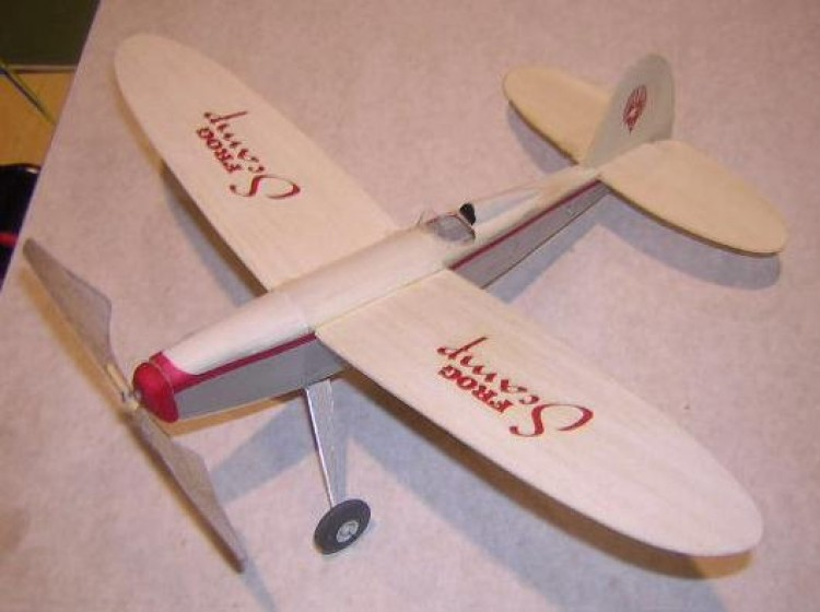 Scamp model airplane plan
