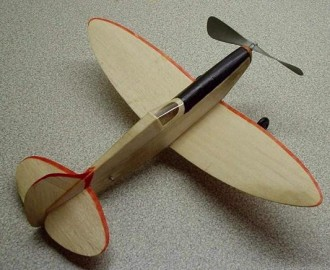 Speedy model airplane plan