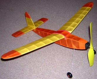 Sprite model airplane plan