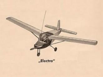 Electra model airplane plan