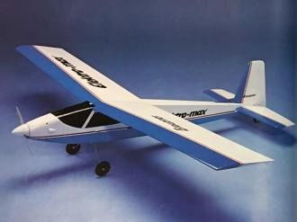 Elektro-max model airplane plan