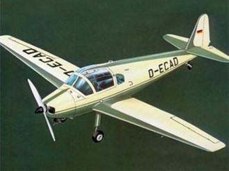 Klemm KL 107B model airplane plan