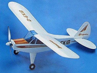 Piper PA-18 Super Cub model airplane plan