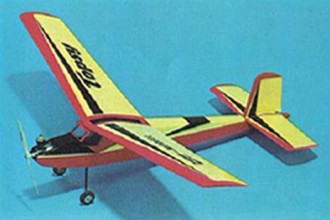 Topsy model airplane plan