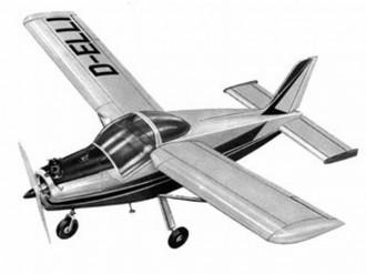 Bolkow Junior model airplane plan
