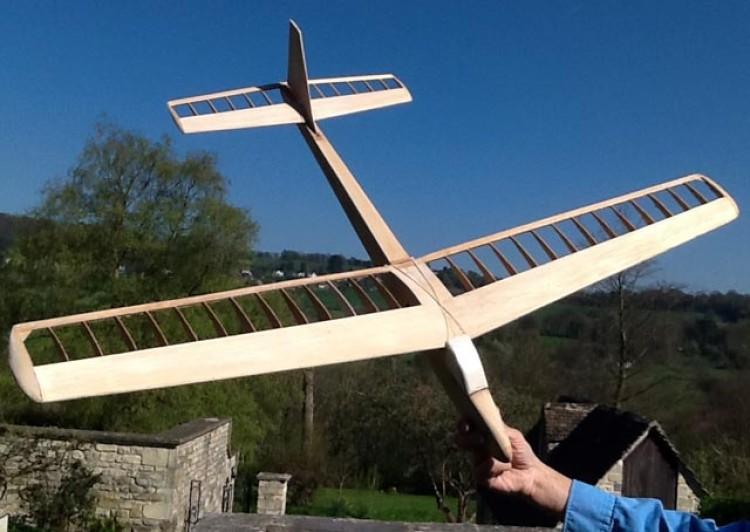 Filou model airplane plan