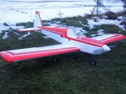Kwik Fly E model airplane plan