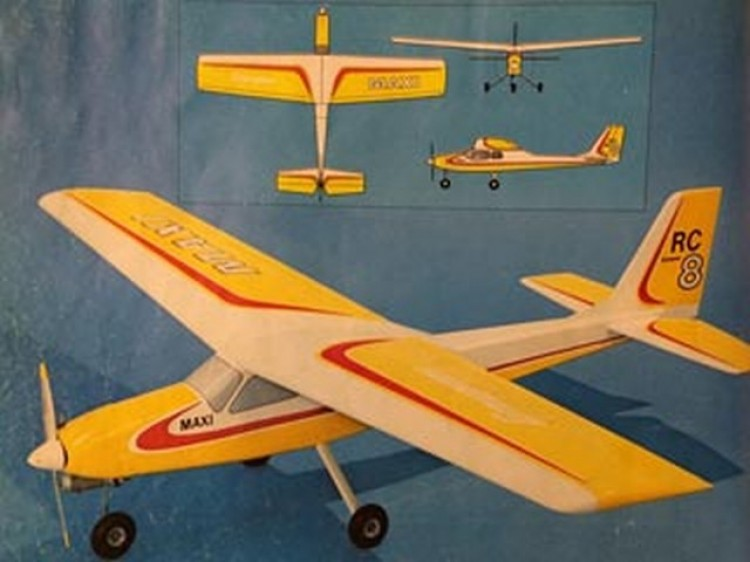 Maxi Sport Trainer model airplane plan