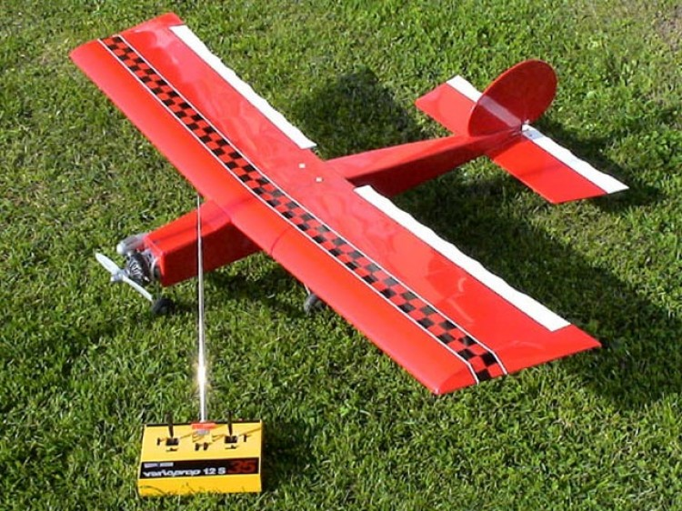 Middle Stick model airplane plan