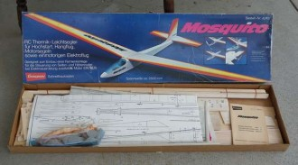 Mosquito model airplane plan