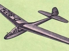 Weihe 50 model airplane plan