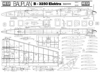 Elektra model airplane plan