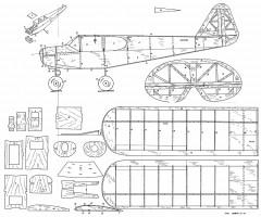 Hegi Frechdax model airplane plan