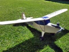 Auster Aiglet Trainer model airplane plan