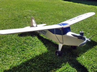 Auster Aiglet Trainer model airplane plan