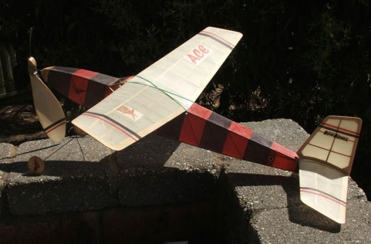 Ace model airplane plan