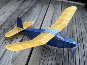 Achilles model airplane plan