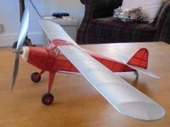 Auster Arrow model airplane plan