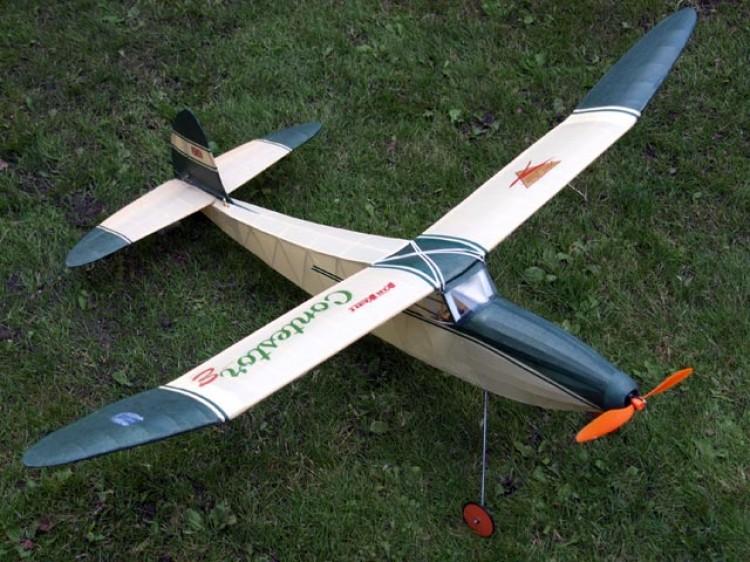 Contestor model airplane plan