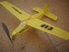 Elf model airplane plan
