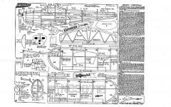 Ercoupe Keil Kraft (printwood) model airplane plan