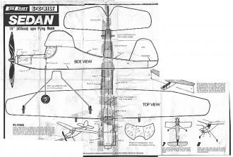 Sedan Ezebilt Keil Kraft. model airplane plan