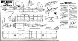 Robin model airplane plan