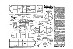 Cessna 140 model airplane plan