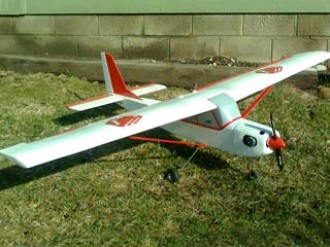 Chacal  model airplane plan