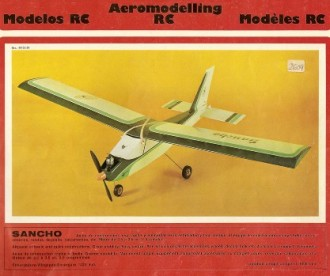 Sancho model airplane plan