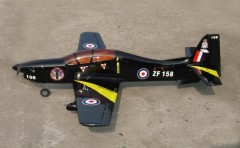 Tucano model airplane plan