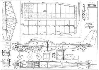 Robbe Charter model airplane plan