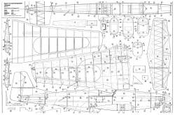 P-51D Mustang model airplane plan