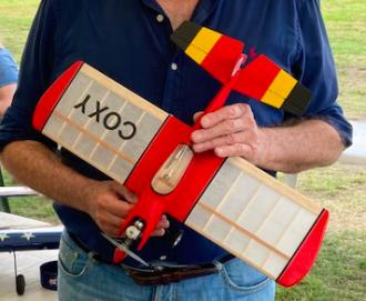 Svenson Coxy model airplane plan