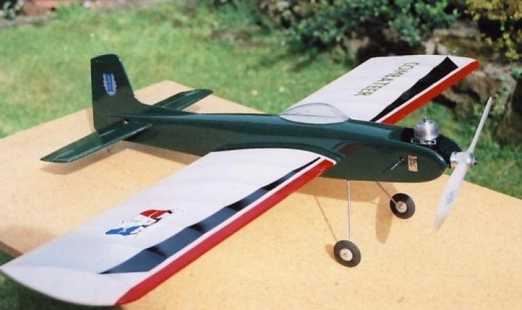 Combateer model airplane plan